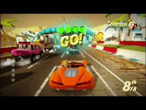 Kinect Joy Ride - 3 Mode Gameplay Montage Trailer   HD