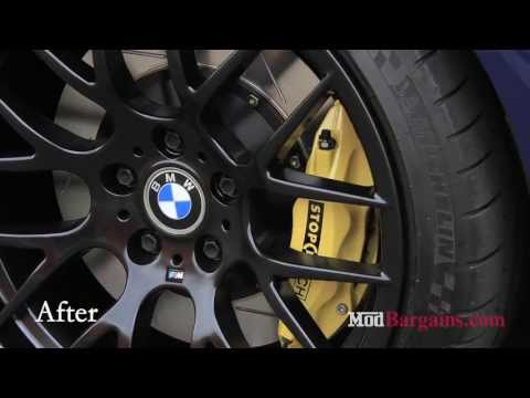 2004 BMW E46 M3 gets Stoptech Big Brake Kit and Avant Garde Rims installed at Modbargains
