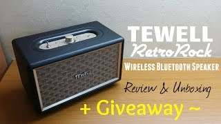 Have you ever wanted to own a classic retro speaker, but hate the hassle of it's compatibility? Here's your chance to own one! Its compatible with all smartphones that support bluetooth! You can go to the link: (http://amzn.to/2r2KypV) to purchase it for $55, not only is it high quality, it produces a powerful bass for those of you who love rock music!Input the amazon code: SUXE-U83HQR-4KT73L and get 49% OFF!GIVEAWAY: TEWELL is giving away 1 of these speaker sets to you viewers! Simply follow the rules in the link and you might just walk away with 1 brand new TEWELL retrorock bass speaker!Giveaway Link: https://giveaway.amazon.com/p/89e762121ce86bcc© SAMUEL LEWIS