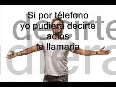 , title : 'Se telefonando Nek subtitulada en español'
