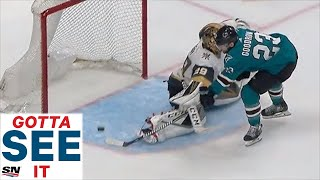 GOTTA SEE IT: Barclay Goodrow Ends Instant Classic Between Sharks & Golden Knights With OT Goal by Sportsnet Canada
