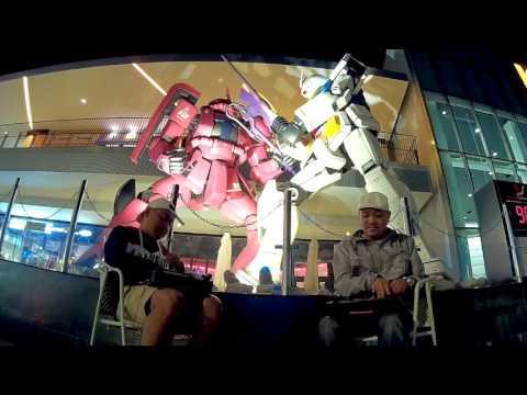 Spin Master A-1 + DJ $HIN - Session@GUNDAM vs ZAKU EXPO CITY