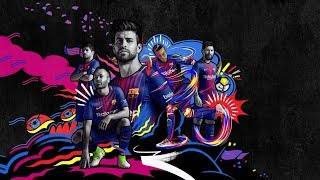 The new FC Barcelona kit for the 2017/18 season