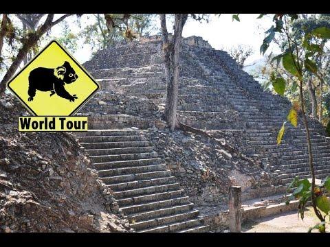 Voyage au Honduras, Copan Ruinas, ruines Maya (travel Honduras) (around the world) video