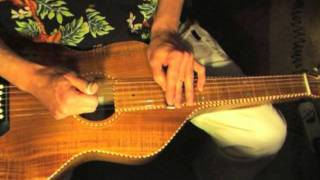 "Lesson Lap Slide Guitar - Free Tab - Part 2/5 ""Blues On My Lap"""