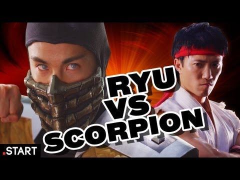 Mortal Kombat vs. Street Fighter (en la vida real)