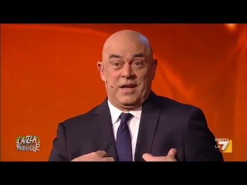 crozza: renzi voleva parlare di trivelle invece è stato trivellato!