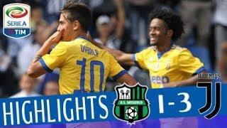 Video Sassuolo - Juventus -1-3 - Highlights - Giornata 4 - Serie A TIM 2017/18 MP3, 3GP, MP4, WEBM, AVI, FLV Maret 2018