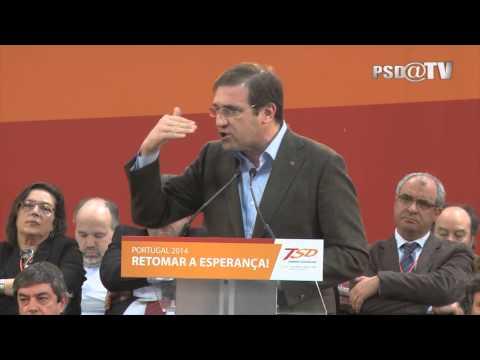 Pedro Passos Coelho na Sessão de Encerramento do XIII Congresso Nacional TSD