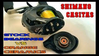 Video $10 CERAMIC BEARINGS VS STOCK BEARINGS PART 1: THE $100 REEL SHIMANO CASITAS WITH SHOCK ENDING!! MP3, 3GP, MP4, WEBM, AVI, FLV Mei 2019