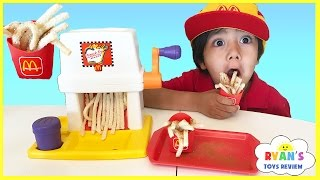 Mcdonald's French Fries Maker Happy Meal Magic Vintage McDonalds Food Toys Pretend Play Toy for Kids full download video download mp3 download music download