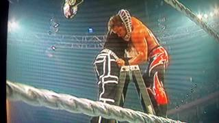 Jeff hardy superplexed Charlie Haas at one night stand