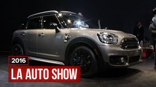 Mini Cooper Countryman gets the hybrid treatment by Roadshow