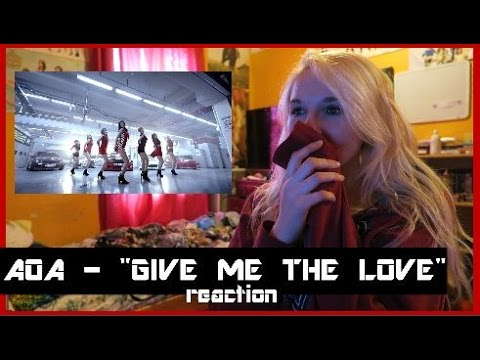 "AOA - ""Give Me The Love"" (feat. Takanroi Nishikawa) MV REACTION"