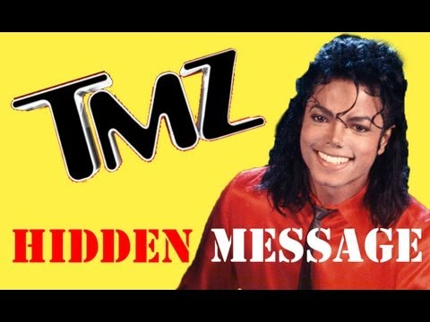 tmz - One major new clue! Hidden message found in a recent TMZ article. Link below. This article gives proof of Michael Jackson's innocence and that he is ALIVE! B...