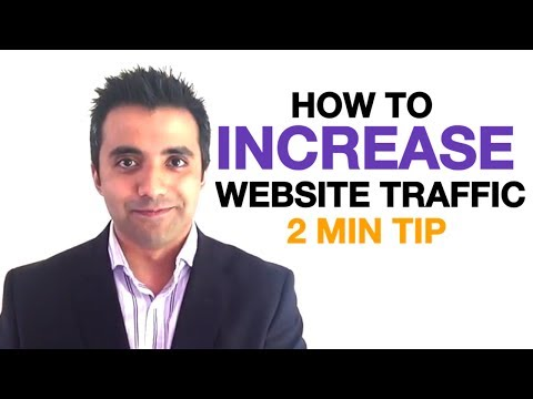 how to get more website visitors