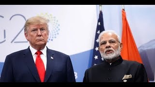 Donald Trump India Visit LIVE    Ahmedabad Airport All Set To Welcome Donald Trump