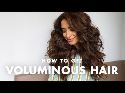 Hairstyles for short hair - How to Get Big VOLUMINOUS Hair