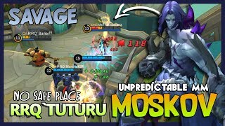 """Video Savage Time Moskov by RRQ`Tuturu """"No Safe Place Gusion, I Come for My Savage!"""" ~ Mobile Legends MP3, 3GP, MP4, WEBM, AVI, FLV September 2018"""