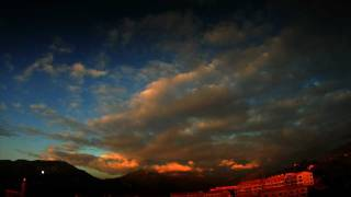 January Timelapse corsica chronophotographie propriano valinco getting high above sartene gopro hero