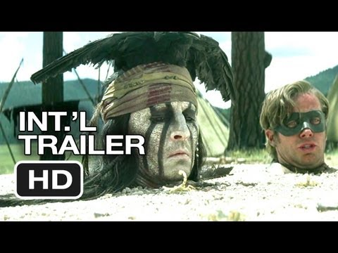 The Lone Ranger Official International Trailer #1 (2013) - Johnny Depp Movie HD