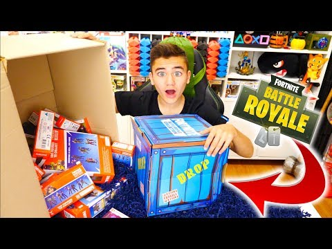 UNBOXING GÉANT SPÉCIAL FORTNITE BATTLE ROYALE - Néo The One