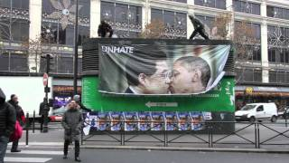 【世界のトップ同士のキス広告がカンヌで受賞】UNITED COLORS OF BENETTON.のコミュニケーションキャンペーン「UNHATE」