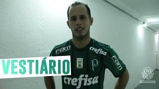 Guerra comenta os dois gols e a atuação do Verdão no Papo de Vestiário. ------------------- Assine o Premiere e assista a todos os jogos do Palmeiras AO VIVO, ...
