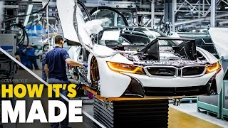 Video CAR FACTORY ... New BMW i8  HOW IT'S MADE | HOW TO BUILD a Supercar MP3, 3GP, MP4, WEBM, AVI, FLV Mei 2019