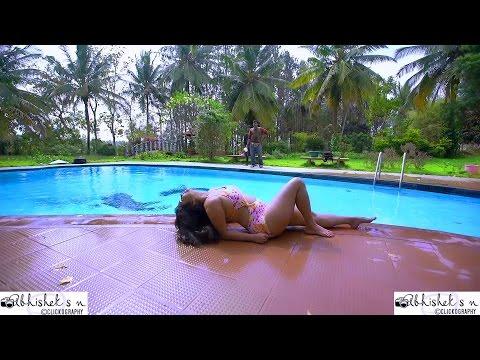 Video Shubha Poonja | Kannada Actress | Official Hot Swimsuit Photoshoot HD MAKING | Abhishek S N download in MP3, 3GP, MP4, WEBM, AVI, FLV January 2017