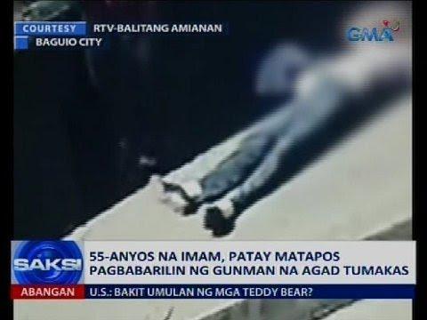 55-anyos na imam, patay matapos pagbabarilin ng gunman na agad tumakas