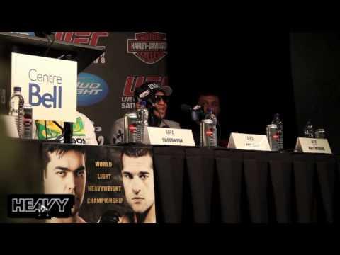 UFC 113 Machida vs Shogun 2 Post Fight Press Conference Highlights