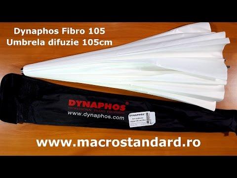 Umbrela foto difuzie Dynaphos Fibro 105cm