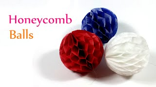 DIY Crafts: HONEYCOMB Balls - Innova Crafts