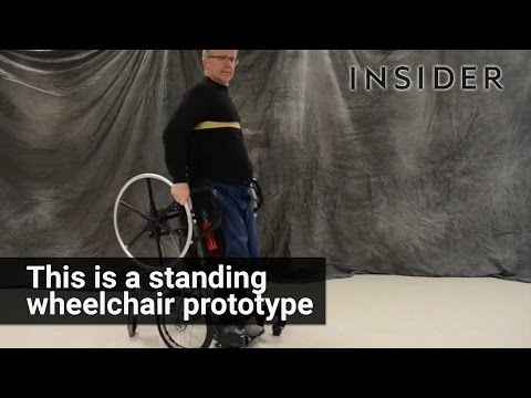 This Clever Wheelchair Prototype Allows Users To