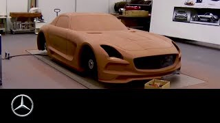SLS AMG Black Series – clay modeling time lapse - Mercedes-Benz original
