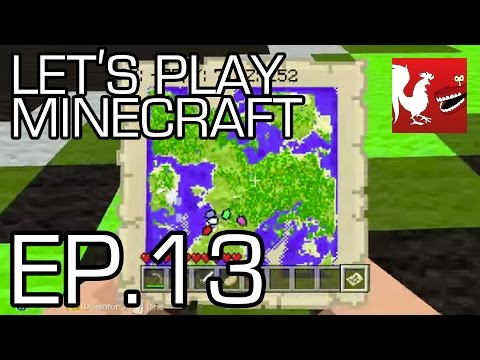 Let's Play Minecraft Episode 13 - Find the Tower Part 1