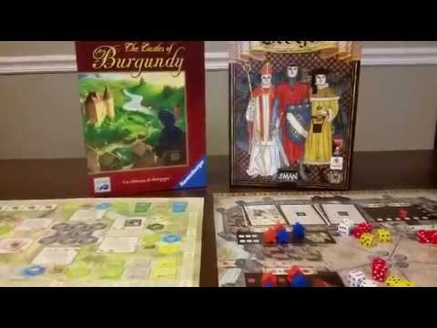 The Castles Of Burgundy Vs. Troyes