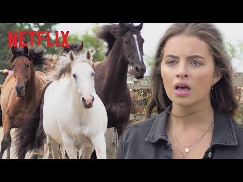 Wild Horse Stampede | Free Rein | Netflix Futures
