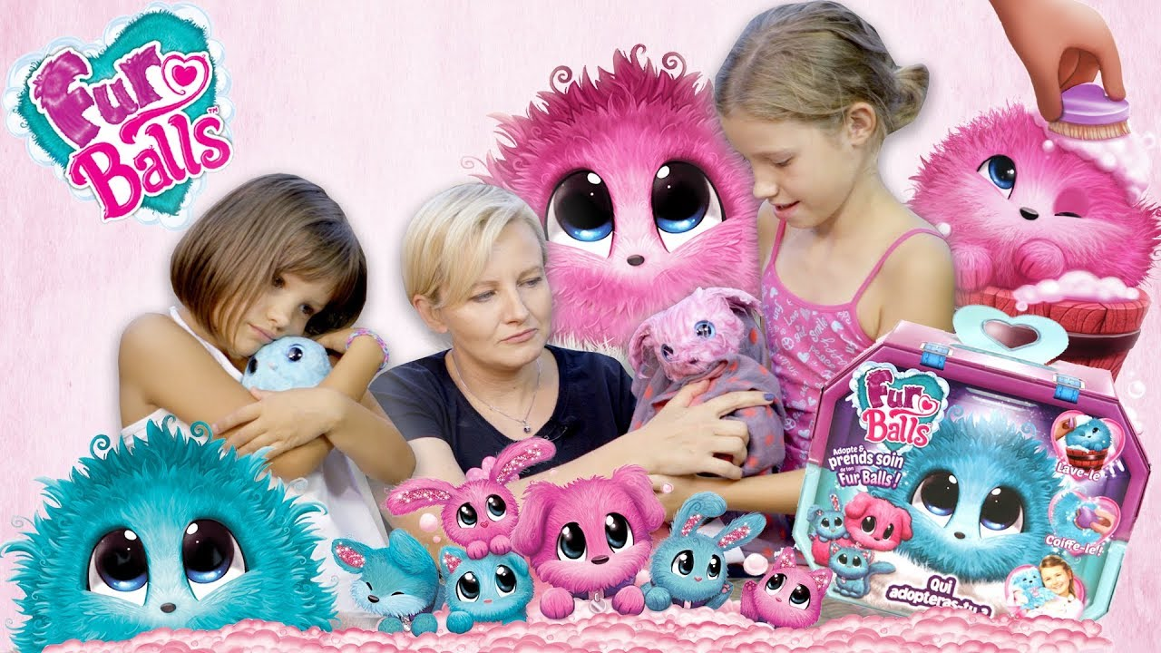 Fur Balls, Adoptowaliśmy 4 nowe zwierzaki, TM Toys