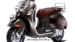 9. Vespa GTV 300 ie : Classy Looks