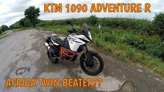 6. Review of the KTM 1090 Adventure R - The Future ISN'T Orange!!