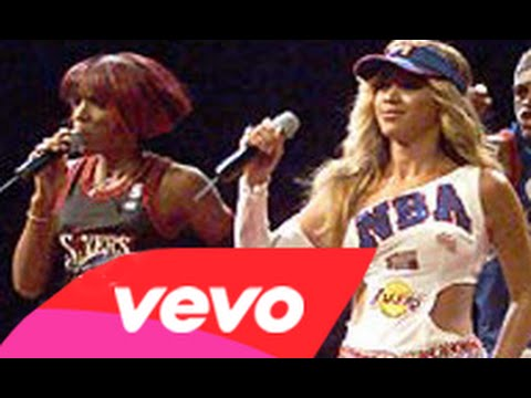 Destiny's Child- Bootylicious (NBA All Stars Game)