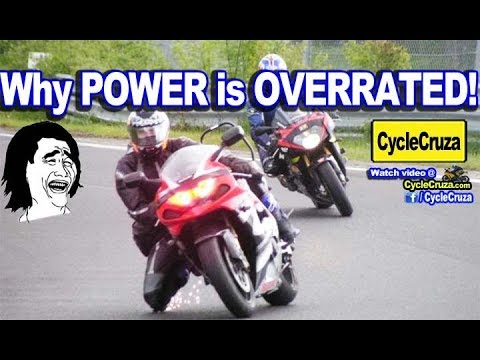 Why Motorcycle POWER is OVERRATED! Calling Out You BUSTAS   MotoVlog