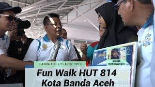 Kemeriahan Fun Walk HUT ke-814 Tahun Kota Banda Aceh
