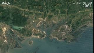 Halong Vietnam  City new picture : Google Timelapse: Ha Long, Vietnam