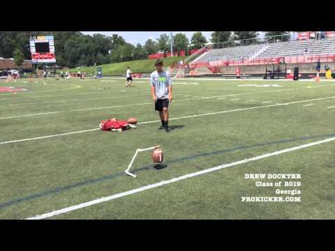 Drew Dockter, Prokicker.com Kicker, Class of 2019
