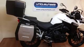 1. Triumph Tiger Explorer ABS 2014 7000 Miles Great Spec