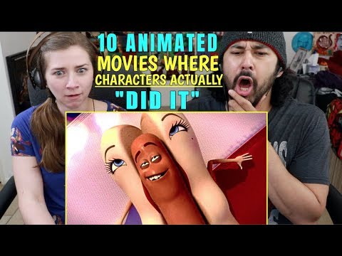 """10 ANIMATED Movies Where CHARACTERS Actually """"DID IT"""" - REACTION!!!"""