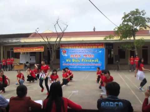 flashmob nhí nhảnh K1A1 PT DTNT THPT Số 2 Nghệ An